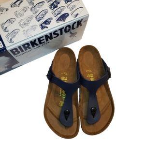 Birkenstock Gizeh Navy Sandals New in Box